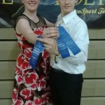 Danyele and Zach competed in Waltz, Tango, ChaCha, and Hustle for the first time!