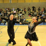 This couple competed in Championship American Smooth, proving that you can be a great dancer at any age!