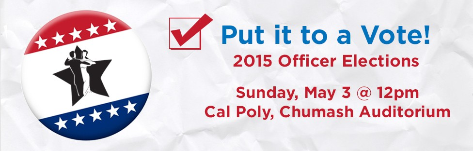 Put it to a Vote: 2015 Officer Elections
